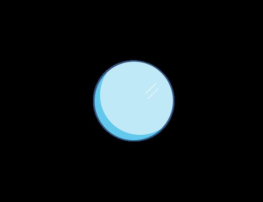 Lente  ACUVUE® con Tinta azul