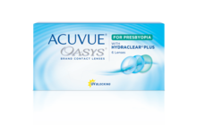 ACUVUE® OASYS® 2 semanas para la presbicia (multifocal)